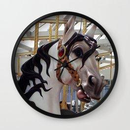 Carousel horse 03 Wall Clock