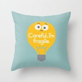 Light Sensitive Throw Pillow