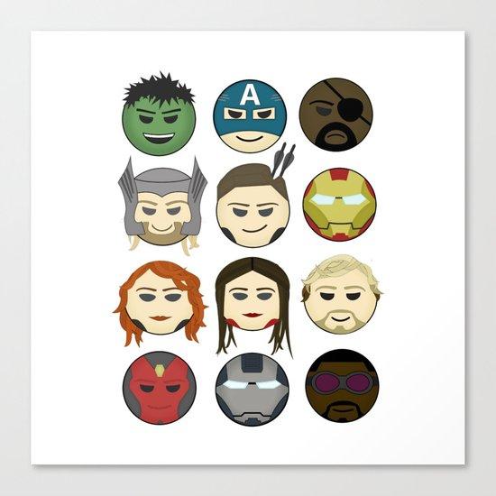 Avenger Emojis :) by sloganart