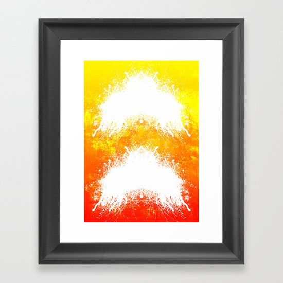 Up & Up Framed Art Print