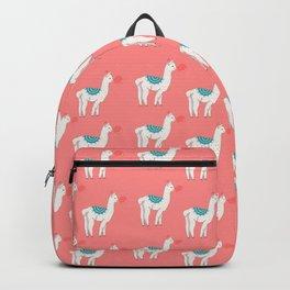 Llama and bubblegum  Backpack