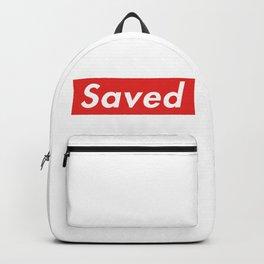 Supremely Saved Backpack