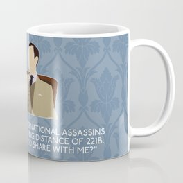 The Reichenbach Fall - Mycroft Holmes Coffee Mug