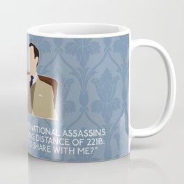 The Reichenbach Fall - Mycroft Holmes Coffee Mug