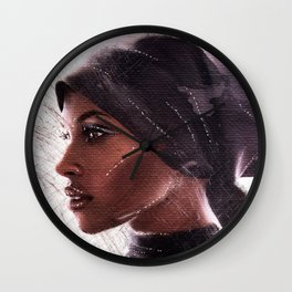 Jasmine Warsame Wall Clock