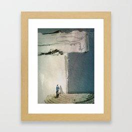 House Disaster Art - Another Yesterday Framed Art Print