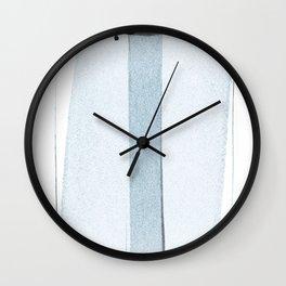 transparent 2 Wall Clock