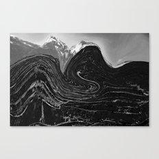 Dark mountain Canvas Print
