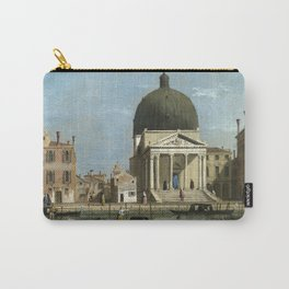 Venice: S. Simeone Piccolo by Follower of Canaletto Carry-All Pouch