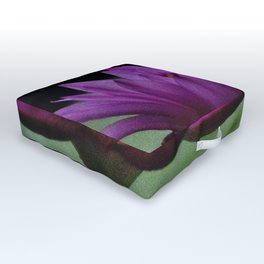 Purple Sacred Lotus Outdoor Floor Cushion