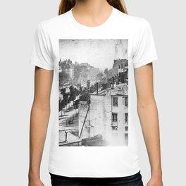 Boulevard du Temple Daguerreotype T-shirt