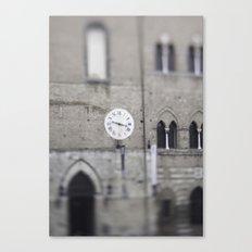 Siena Time Canvas Print