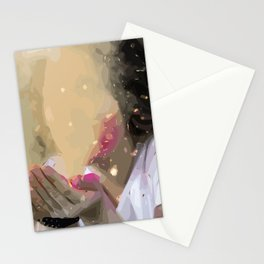 Fantasy Blowing Stationery Cards