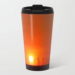 Windmills in the Sun Travel Mug