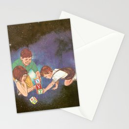 Space Play Stationery Cards