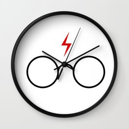harry potters glasses Wall Clock