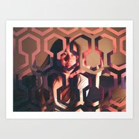 the shining Art Prints featuring Shining by Joshua Lew