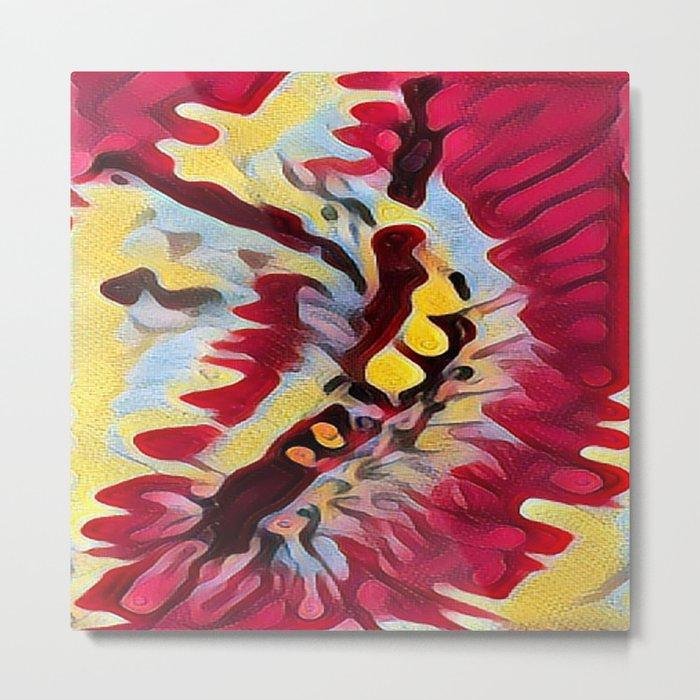 Captivating Caterpillar Metal Print