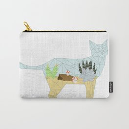 Succulent Terrarium Cat Carry-All Pouch