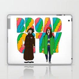 Broad City - Mushrooms Laptop & iPad Skin