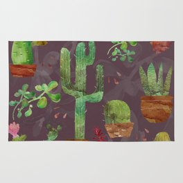 Cozy Cactus Rug