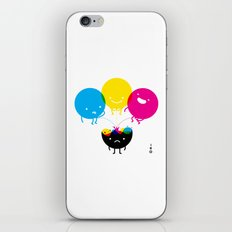 CMY piss K iPhone & iPod Skin