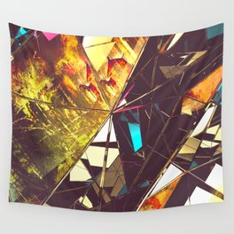 Fractured Time Wall Tapestry