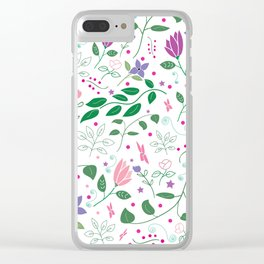 Summer Song Clear iPhone Case