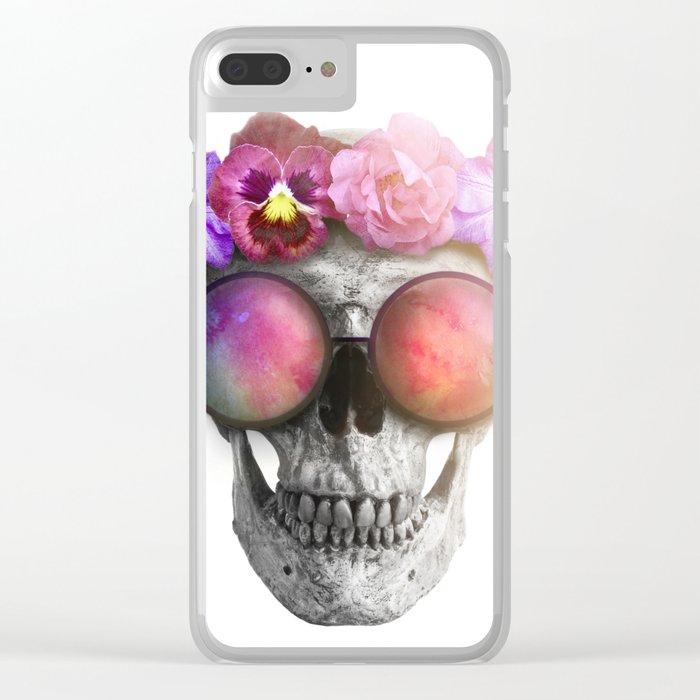"Mortem in Gloria ""Helbi"" Clear iPhone Case"