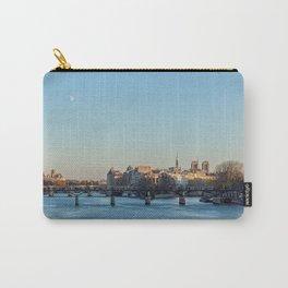 Pont des Arts and ile de la Cite Carry-All Pouch