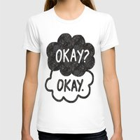 tfios T-shirts featuring OKAY?OKAY THE FAULT IN OUR STARS TFIOS HAZEL AUGUSTUS CLOUDS by monalisacried