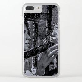 Supercorp- Commodore Kara + Pirate Lena Clear iPhone Case