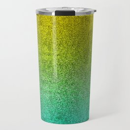 Ocean Sunrise Glitter Gradient Travel Mug