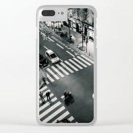 Paris Streets Clear iPhone Case