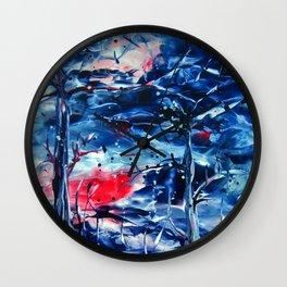 MoonNight Wall Clock