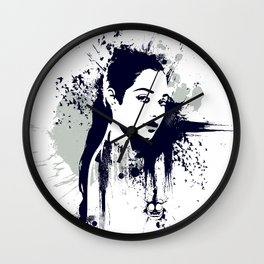 A Girl Wall Clock