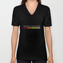 RHYTHM COMPOSER  Unisex V-Neck