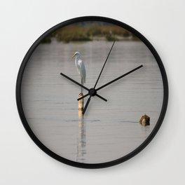 My house has fallen Wall Clock