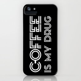 Coffee II iPhone Case