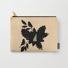 New Hampshire - State Papercut Print Carry-All Pouch