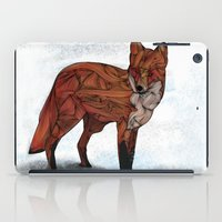 kurt cobain iPad Cases featuring Red Fox by Ben Geiger