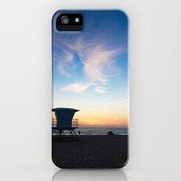 Sunset Over California iPhone Case