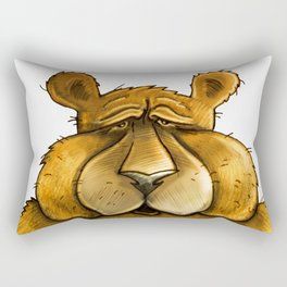 Beary sorry. Rectangular Pillow
