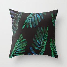 green power nature Throw Pillow