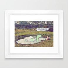 Nessie's Cousin Framed Art Print