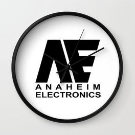 Anaheim Electronics Wall Clock