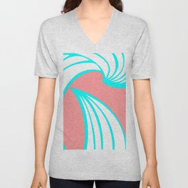 Summer Waves Unisex V-Neck