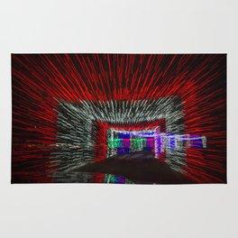 Tunneled Light Rug