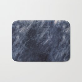 Blue Clouds, Blue Moon Bath Mat