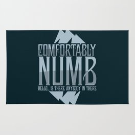 numb black Rug
